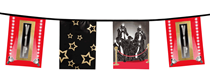 Hollywood VIP 6M Flag Banner Bunting