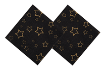 Hollywood VIP Stars Paper Napkins 12pk