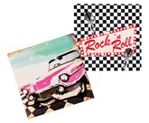 Rock and Roll Napkins 12pk