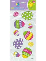 Patterned Easter Egg Cello Bags 20pk