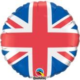 "18"" Union Jack Foil Balloon"