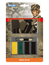 Army Camouflage Make Up & Bandana Kit
