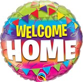 "Welcome Home Pennants 18"" Foil Balloon"