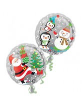 """Merry Christmas Characters 17"""" Foil Balloon"""