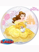 "Disney Princess Belle Beauty & The Beast 22"" Bubble Balloon"