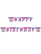Sofia The First Happy Birthday Jointed Banner