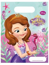 Sofia The First Pearl of the Sea Party Bags 6pk