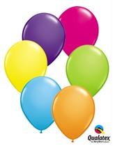 "11"" Tropical Assortment Latex Balloons - 25pk"