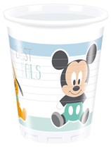 Disney Baby Mickey Plastic Cups 8pk