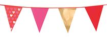 Valentine's Day Love Flag Banner Bunting 6M
