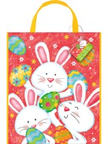 Easter Bunny Party Tote Bag