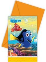 Finding Dory Invitations & Envelopes 6pk