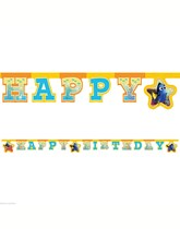 Finding Dory Happy Birthday Letter Banner