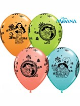 "Disney Moana 11"" Latex Balloons 25pk"