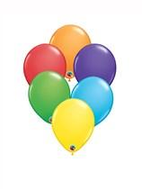"Bright Rainbow Asst. Colour 5"" Latex Balloons 100pk"