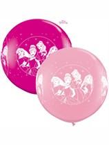 Disney Princess 3ft Latex Balloons 2pk