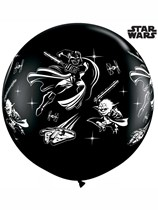 Star Wars 3ft Latex Balloons 2pk