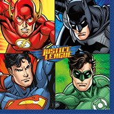 Justice League Lunch Napkins 16pk