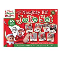 Deluxe Naughty Elf Box Of Jokes
