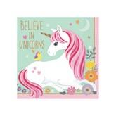 Magical Unicorn Beverage Napkins 12pk