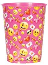 Valentine's Day Emoji 16oz Plastic Cup