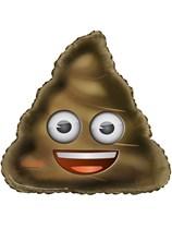 """Poop Emoji 32"""" Foil Balloon"""