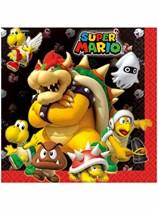 Super Mario Luncheon Napkins 16pk
