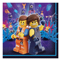 Lego Movie Lunch Napkins 16pk
