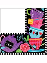 Mad Tea Party Luncheon Napkins 16pk