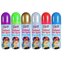 Coloured Hairspray Assorted 24pk