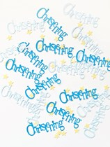Blue Christening Confetti 14g