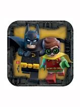 "Lego Batman Movie 7"" Paper Plates 8pk"