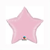 "Pearl Pink 9"" Star Foil Balloon"