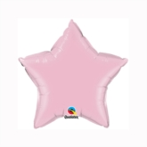 "Pearl Pink 9"" Star Foil Balloon"