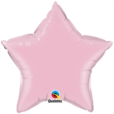 "Pearl Pink 36"" Star Foil Balloon"