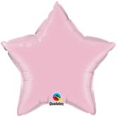 "Pearl Pink 36"" Star Foil Balloon"