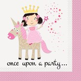 Unicorn Magic Paper Lunch Napkins 16pk