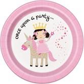 """Unicorn Magic 9"""" Paper Plates 8pk"""