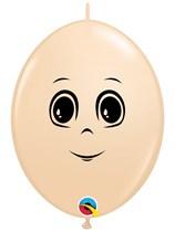 "Masculine Face Blush 12"" Blush Quicklink Latex Balloons 50pk"