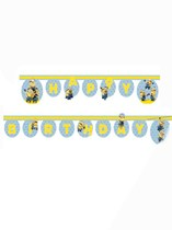 Lovely Minions Happy Birthday Jointed Banner