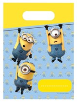 Lovely Minions Party Bags 6pk