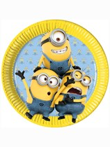 Lovely Minions Paper Plates 8pk