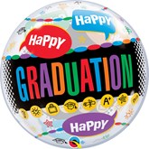 "Happy Graduation 22"" Bubble Balloon"