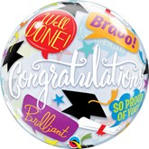 "Graduation Accolades 22"" Bubble Balloon"