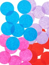 REDUCED Circular Paper 55mm Tissue Confetti 250gm