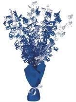 """Blue Birthday Glitz Age 16 Foil Balloon Weight Centrepiece 16.5"""""""