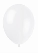 """12"""" Linen White Latex Balloons - 50pk"""