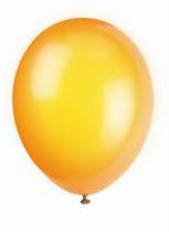 "12"" Citrus Orange Latex Balloons - 50pk"
