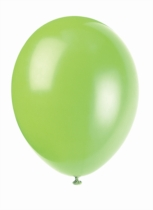 "12"" Neon Lime Latex Balloons - 50pk"