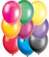 "12"" Assorted Crystal Latex Balloons - 50pk"
